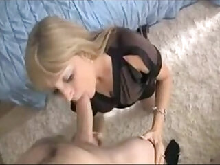 Milf caught stepson beating off and blows him - watch more vidz like this at xporn.host