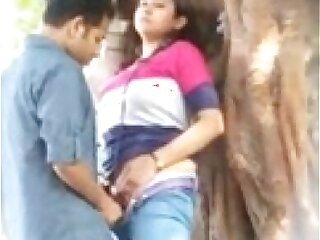 Desperate Indian Lovers Public Sex