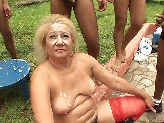 granny gangbang full porn movie