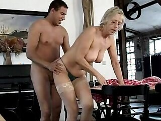 German old mature sluts the old cleaning team
