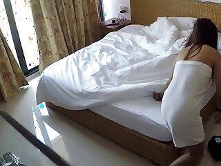 Hidden cam in Hotel room with hooker