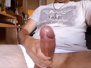 Insane cumshots on webcam