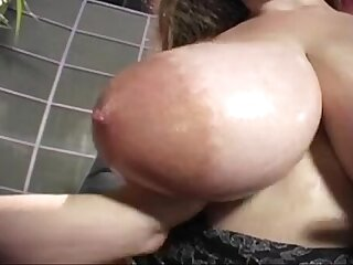Denise Davies Huge Tits Takes It Up Her Big Ass