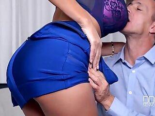 Busty European Sex Goddess gets Fucked Hard