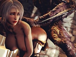 ivy valentine fucked by a monster cock
